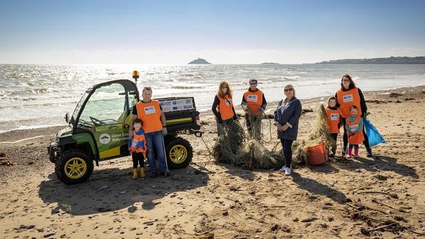 The John Deere Gator will be used by Clean Coasts Ballynamona