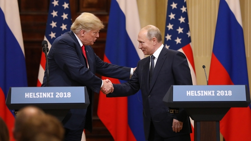 Donald Trump said he believed President Putin's denials of Russian interference in the US election