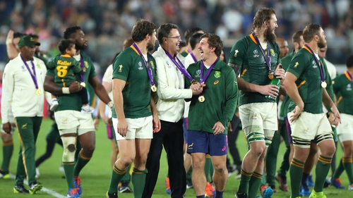 South Africa are back for the Rugby Championship