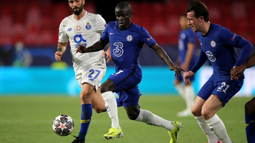 N'Golo Kante was the star of the show