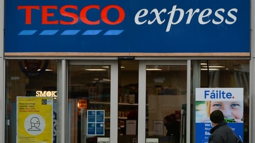 Tesco said it saw 'exceptionally strong' sales during the Covid-19 pandemic
