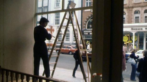 Dawson Street in Dublin, 1981