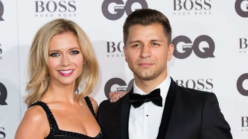 """Rachel Riley and Pasha Kovalev - """"Happy, happy days for our little family"""""""