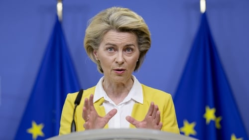 EU chief Ursula von der Leyen said justice systems across the EU must be independent and fair (File image, Getty)