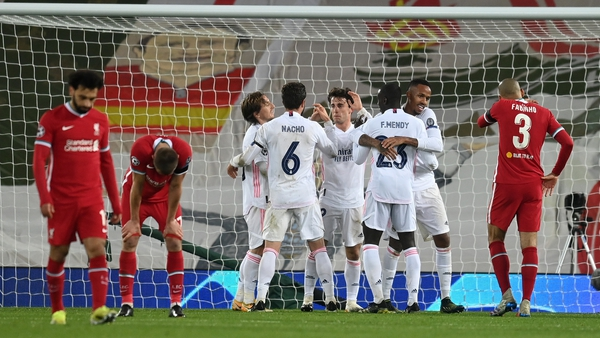Liverpool failed to breakdown a resolute Madrid defence