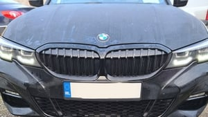 BMW, valued at around €50,000, was seized