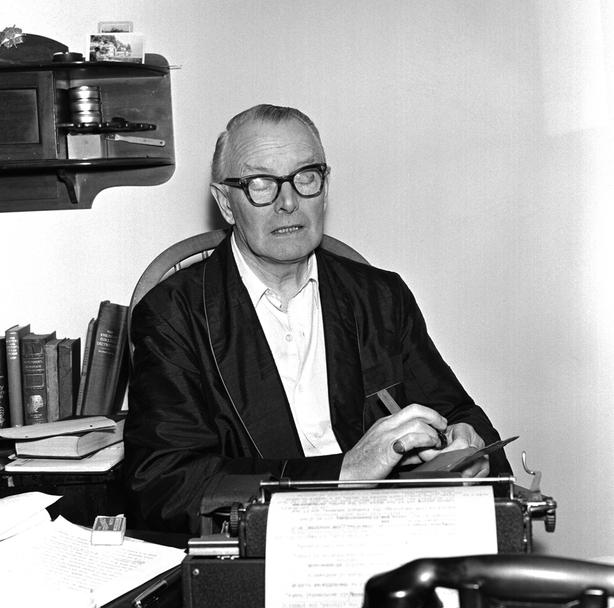 Irish writer Sean O'Faolain in 1962