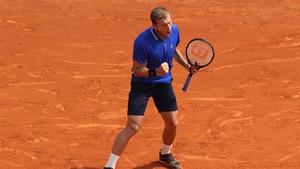 Dan Evans won a scarcely believable five of seven break points against Novak Djokovic