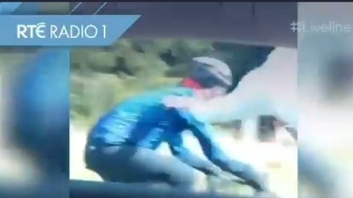 Attack on a Cyclist on Liveline