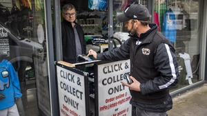 Click-and-collect services for non-essential retail resumed earlier this week