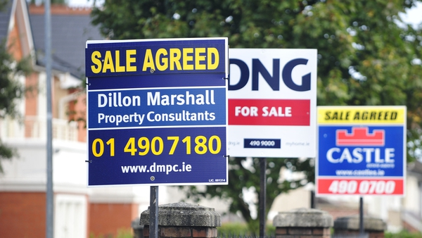The number of homes coming onto the market has fallen by about 40% in some parts of the country