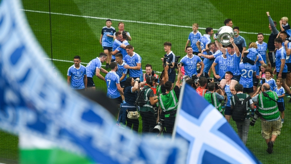 Dublin have won the All-Ireland for the last six years