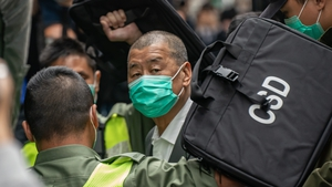 Jimmy Lai pictured in February arriving at the Court of Final Appeal