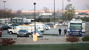 The shooting occurred at a Fedex facility near the city's airport