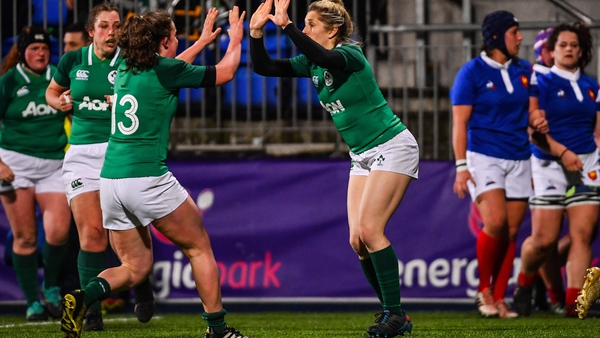 Ireland are looking for a first win over France since 2017
