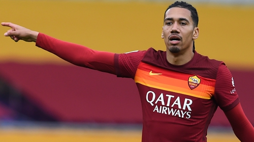 Chris Smalling was forced to hand over three Rolex watches, jewels and around €300 in cash