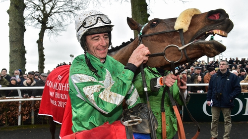 Davy Russell fell from Doctor Duffy in October 2020