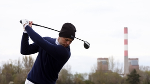 Martin Kaymer of Germany on the 10th tee during the second round
