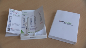 The device lets people know their HIV status within 15 minutes