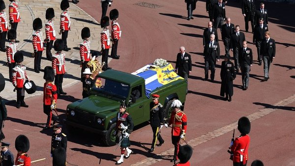 The Duke of Edinburgh's funeral was watched by an average of almost seven million people