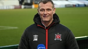 Jim Magilton gave little away after Dundalk's draw