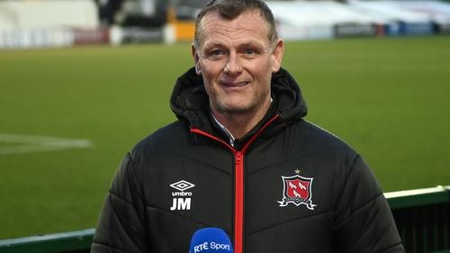 Jim Magilton gave little away after Dundalk's draw