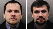 Alexander Petrov (L) and Ruslan Boshirov are also suspects in the murder of Sergei Skripal in the UK in 2018