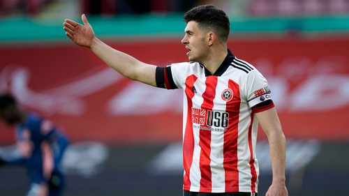 John Egan returned to action this month after six weeks out with a dislocated toe