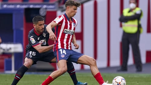 Marcos Llorente was on the mark for Atletico