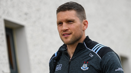 Conal Keaney with the Dublin hurlers in 2019