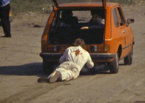 Stuntmen on Dollymount Strand (1981)