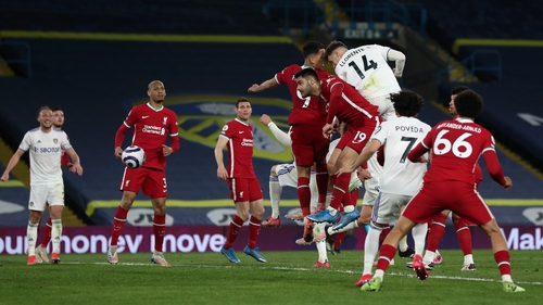 Diego Llorente rose highest to earn Leeds a deserved point
