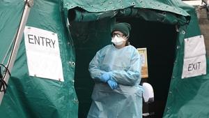 A walk-in test centre set up in Finglas (File: RollingNews.ie)