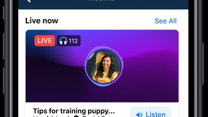 Facebook expects Live Audio Rooms to be available to all users by the middle of this year