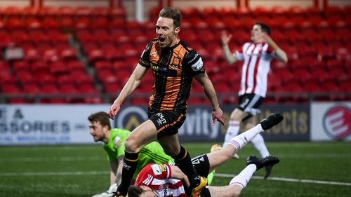 David McMillan had put Dundalk in front