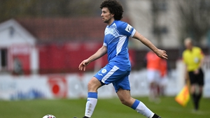 Barry McNamee impressed for Harps
