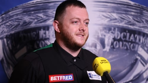 Mark Allen was full of praise for Barry Hearn after his first round win