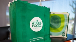 Whole Foods customers can associate a credit card with their palm print