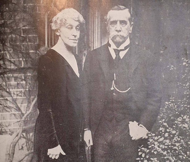 Lady and Lord Talbot Photo: Irish Life, 15 April 21.