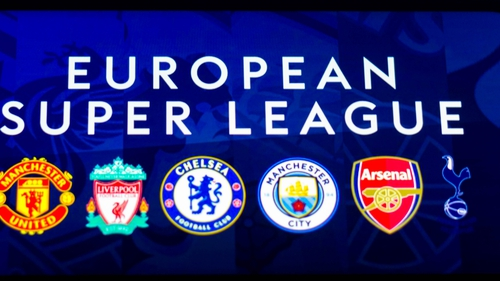 Manchester United, Liverpool, Chelsea, Manchester City, Arsenal and Tottenham all signed up for the short-lived Super League
