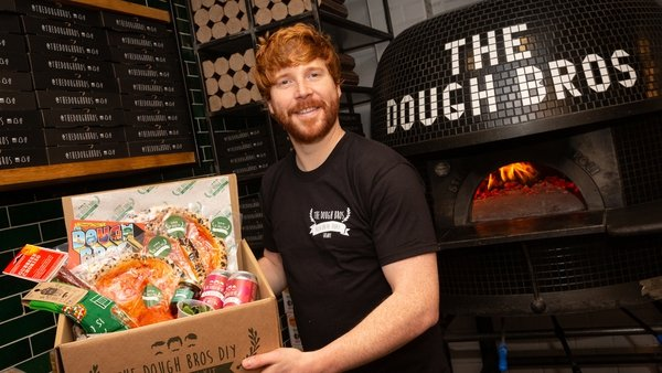 Eugene Greaney, from The Dough Bros, pictured during Local Enterprise Week