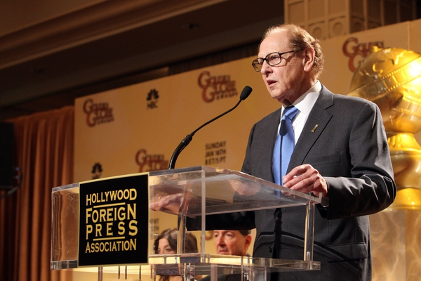 Philip Berk speaks onstage during the 68th Annual Golden Globe Awards nomination announcement held at the Beverly Hilton Hotel on December 14th, 2010 in Beverly Hills, California. (Photo by Alexandra Wyman/WireImage)