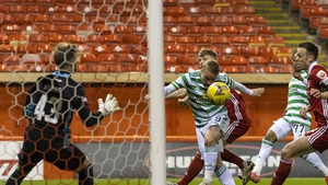 The Hoops left it late at Pittodrie