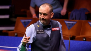 Williams is a three-time winner at the Crucible