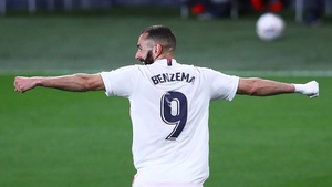 Benzema hit a brace for Real Madrid