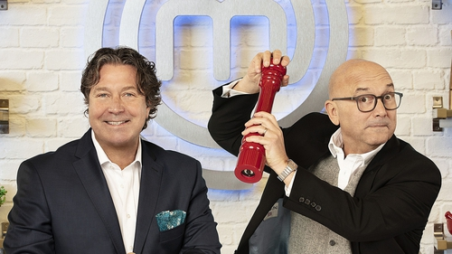 John Torode and Gregg Wallace host Celebrity MasterChef