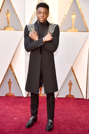 Chadwick Boseman in Givenchy Haute Couture (2018)