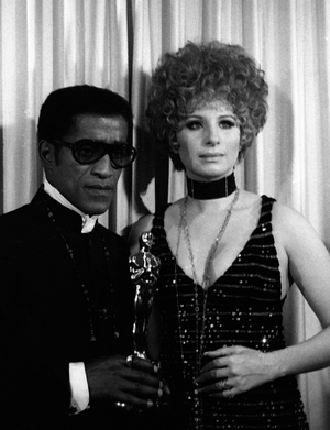Sammy Davis Jr and Barbra Streisand (1968)