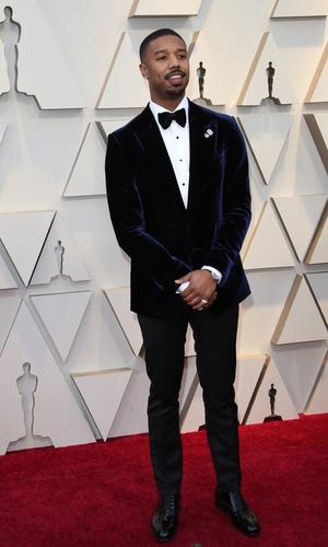 Michael B Jordan in Tom Ford (2019)