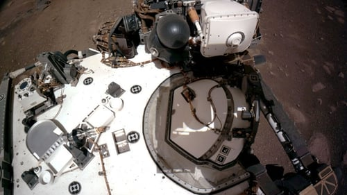 NASA's Perseverance rover landed on Mars in February